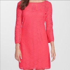 Lilly Pulitzer Topanga Pink Lace Tunic Dress